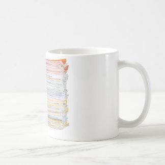 Stack of paper coffee mug