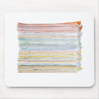 Stack of paper mouse pad