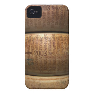 Stack of parmesan cheeses, close-up iPhone 4 cover