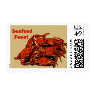 Stack of Steamed Crabs Seafood Feast Postage
