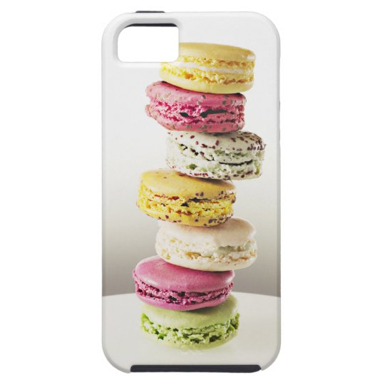 Stack of vibrant macaroons iPhone SE/5/5s case