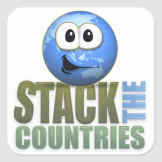 Stack the Countries Stickers