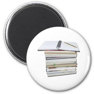StackBookNotebook112010 Imán Redondo 5 Cm