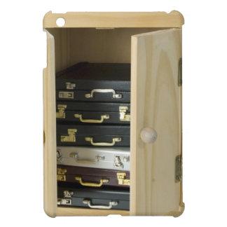 StackBriefcasesInArmoire070515 Case For The iPad Mini