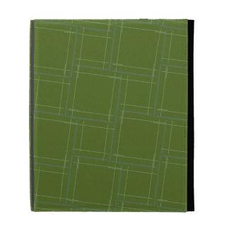 Stacked Blocks iPad Folio Cover