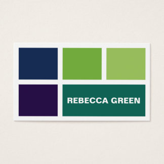 Stacked Blocks - Style C Business Card