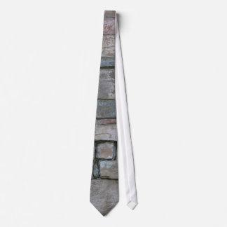 Stacked Bricks for Masonry Neck Tie