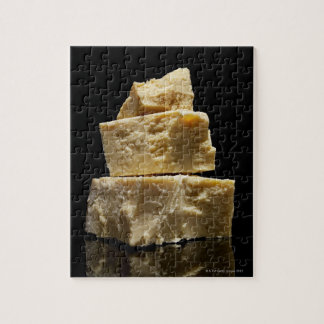 Stacked Chunks of Parmasean Cheese Jigsaw Puzzle