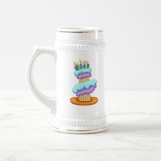 Stacked Cupcake Ceramic Stein