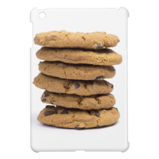 stacked delicious chocolate chip cookies cover for the iPad mini
