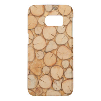 stacked firewood samsung galaxy s7 case