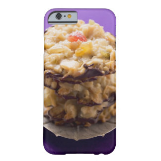 Stacked florentines on plate, close-up barely there iPhone 6 case