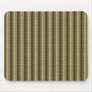 Stacked golden Coins Mouse Pad