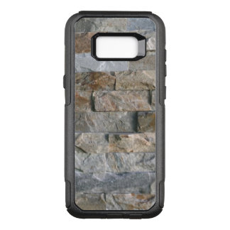 Stacked Gray Granite Stone Slabs OtterBox Commuter Samsung Galaxy S8+ Case