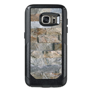 Stacked Gray Granite Stone Slabs OtterBox Samsung Galaxy S7 Case