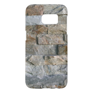 Stacked Gray Granite Stone Slabs Samsung Galaxy S7 Case