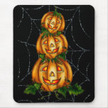 STACKED JACKS & WEB by SHARON SHARPE Mouse Pad