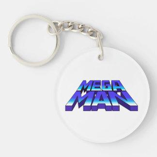 Stacked Logo 2 Keychain