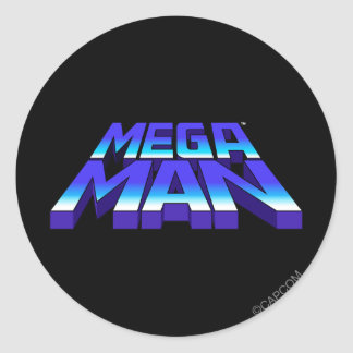 Stacked Logo Round Stickers