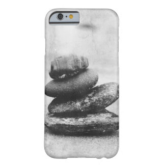 Stacked Michigan Beach Rocks, Calm Zen Nature Barely There iPhone 6 Case