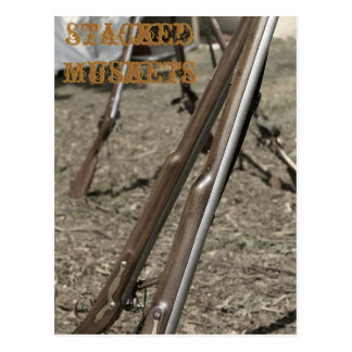 Stacked Muskets Postcard