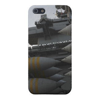 Stacked ordnance ready to be loaded iPhone 5 cover