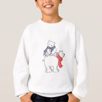 STACKED POLAR BEARS SWEATSHIRT