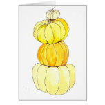 stacked pumpkins cards