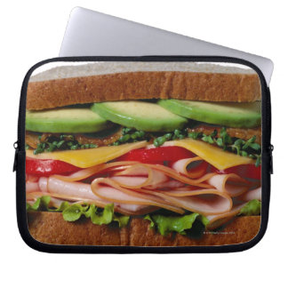 Stacked sandwich computer sleeve