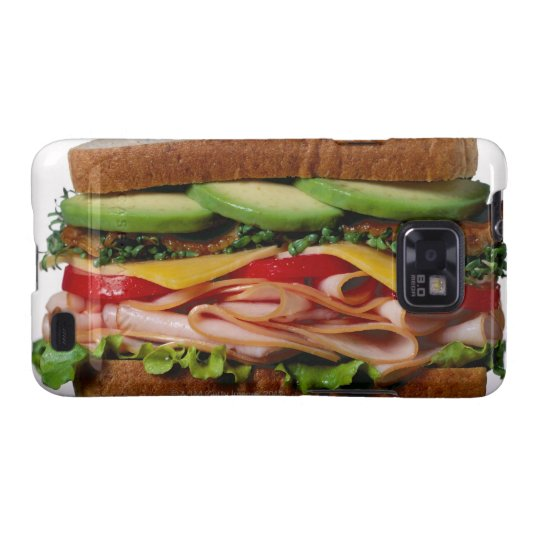 Stacked sandwich galaxy s2 case