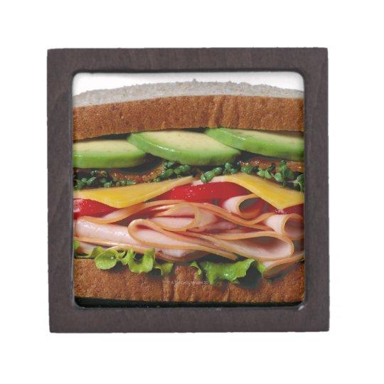 Stacked sandwich jewelry box