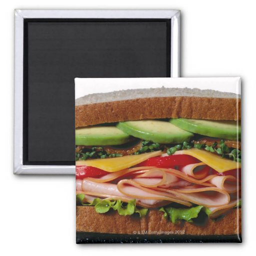 Stacked sandwich magnets