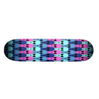 Stacked Skulls Skateboard