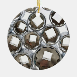 Stacked Sockets Christmas Ornament