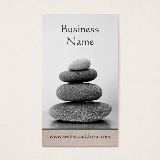 Stacked Stones Holistic Wellness and Healing Arts Business Card