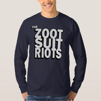 Stacked Text Long Sleeve Tee Shirt