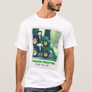 Stacked Tractors (tshirt) T-Shirt