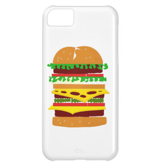 Stacked Triple Burger Cover For iPhone 5C
