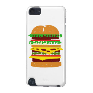 Stacked Triple Burger iPod Touch 5G Case