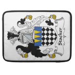 Stacker Family Crest Sleeves For MacBook Pro