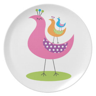 Stacking Birds Plate