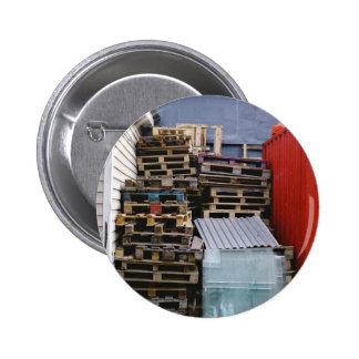 Stacking storage 2 inch round button