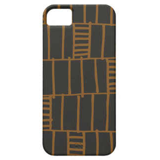 Stacking Up Phone Case - Cognac iPhone 5/5S Covers