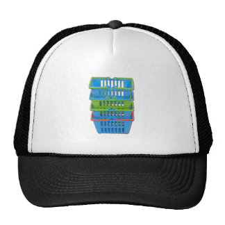 StackOfShoppingBaskets101311 Trucker Hat