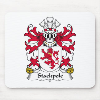 Stackpole Family Crest Mouse Pad