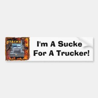 Stacks Bumper Sticker Car Bumper Sticker