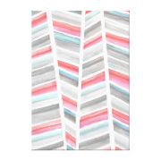 Stacks canvas Art Stretched Canvas Print