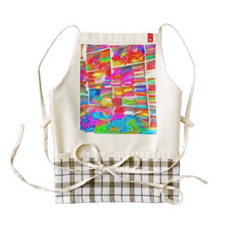 Stacks of clothes ready to sell zazzle HEART apron