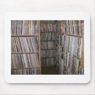 Stacks of Vinyls Mouse Mats