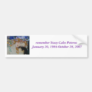 Stacy Cales Peterson Pegatina Para Auto